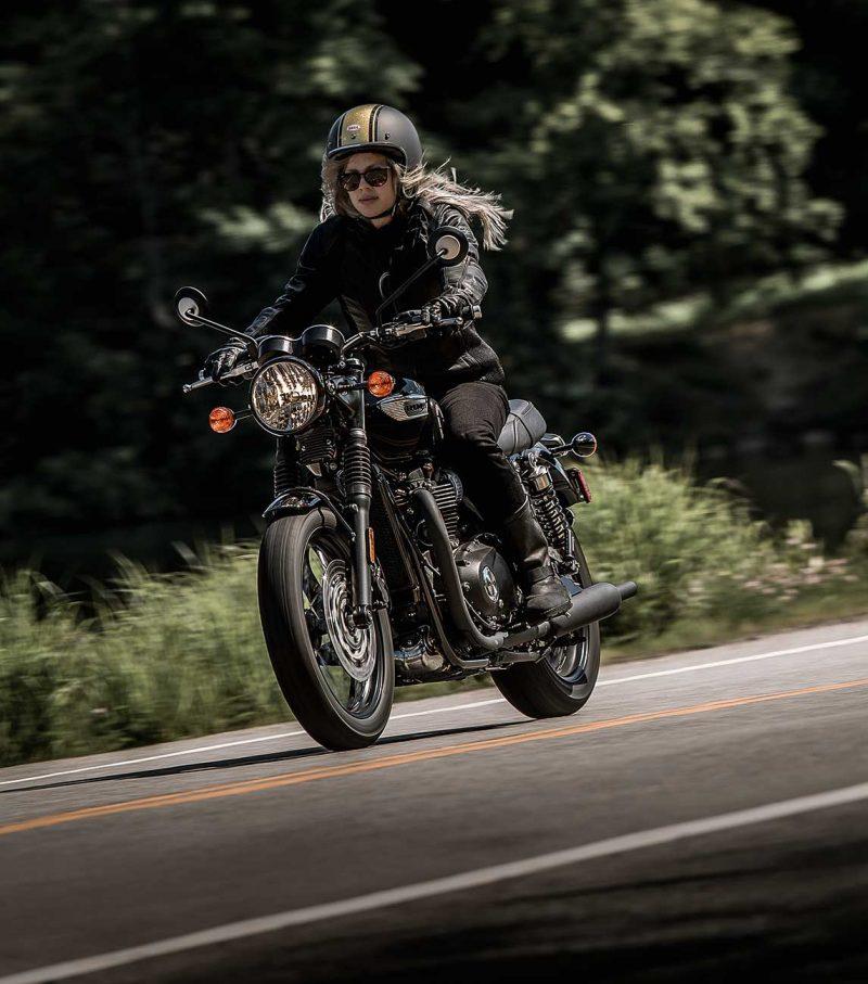 Moto Triumph Bonneville T100