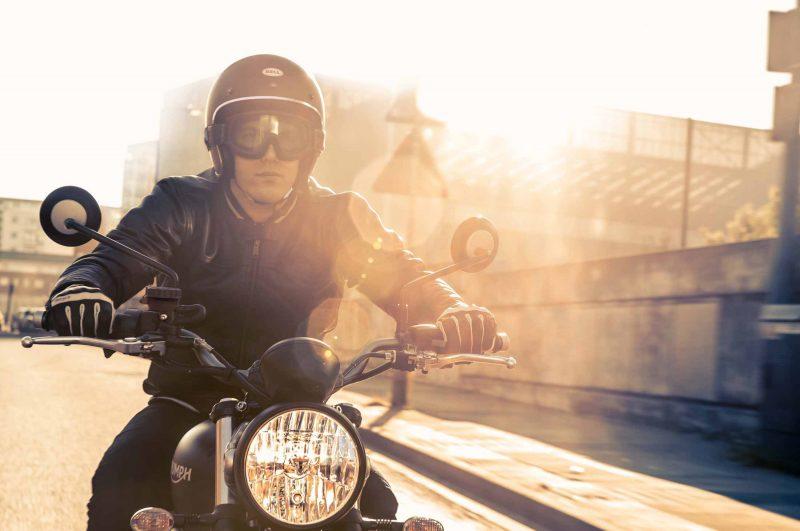 Moto Triumph Street Scrambler