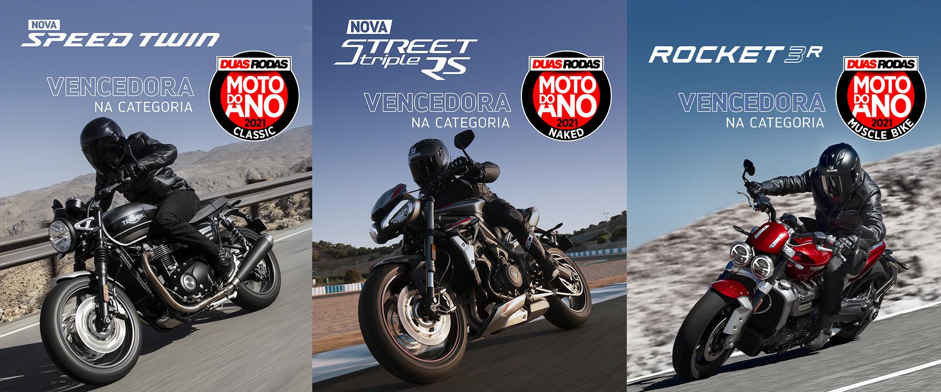 Triumph Ganha 3 Categorias Na Moto Do Ano Duas Rodas 2021